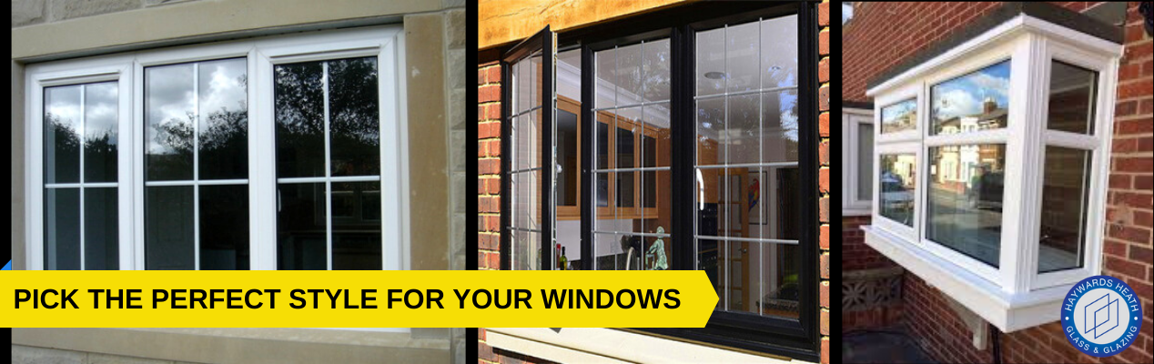 replacement UPVC windows in Haywards Heath