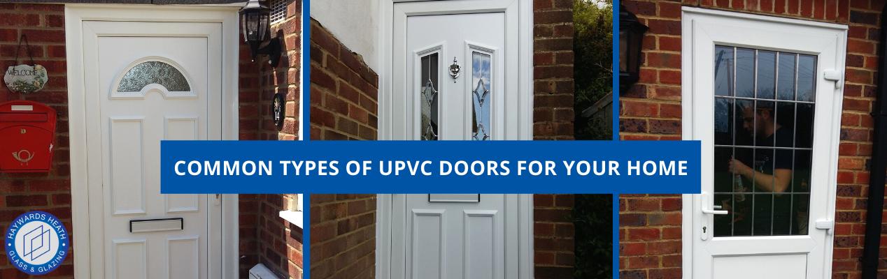 Replacement UPVC Doors